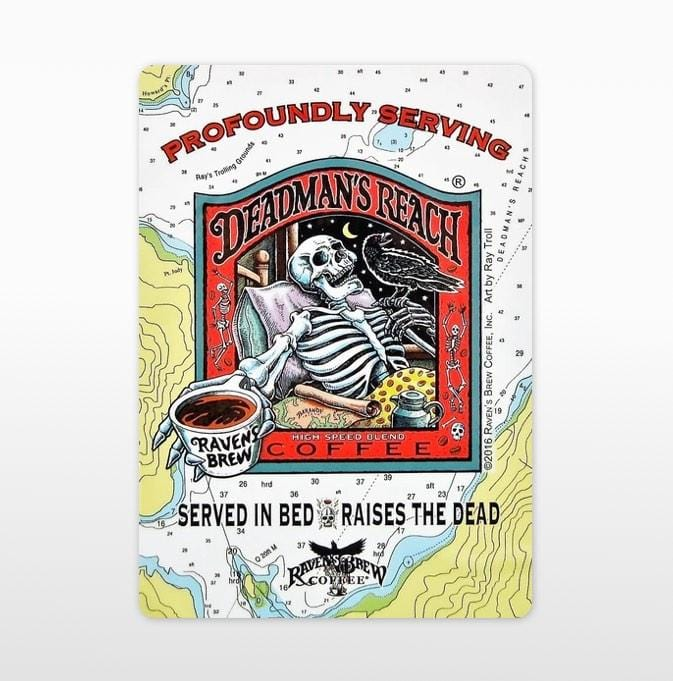 Deadman's Reach® Label Art Cling