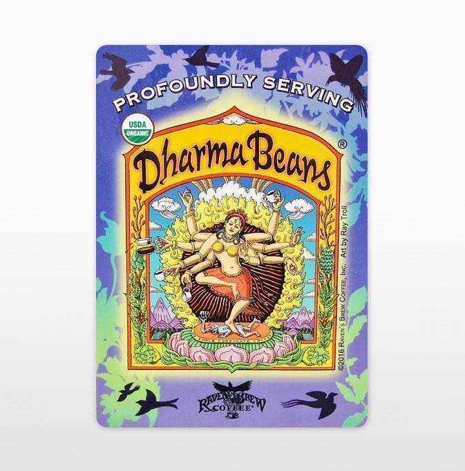 Dharma Beans™ Label Art Cling