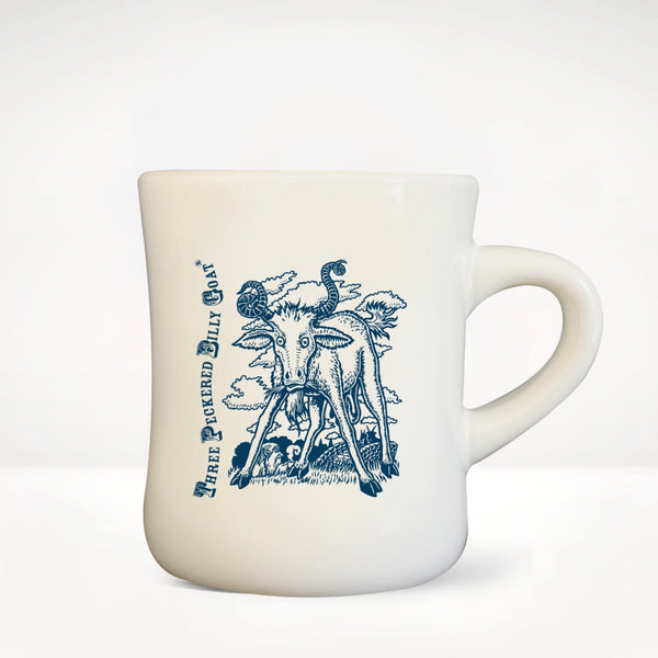 Three Peckered Billy Goat® Diner Mug