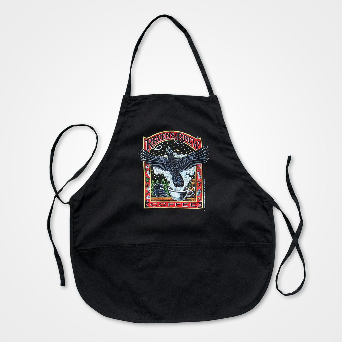 Raven's Brew Coffee® Apron - Short
