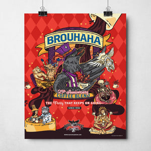 "Brouhaha™ Blend 11""x14"" Poster"