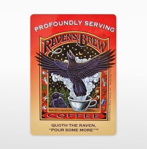 Raven's Brew® Label Art Cling
