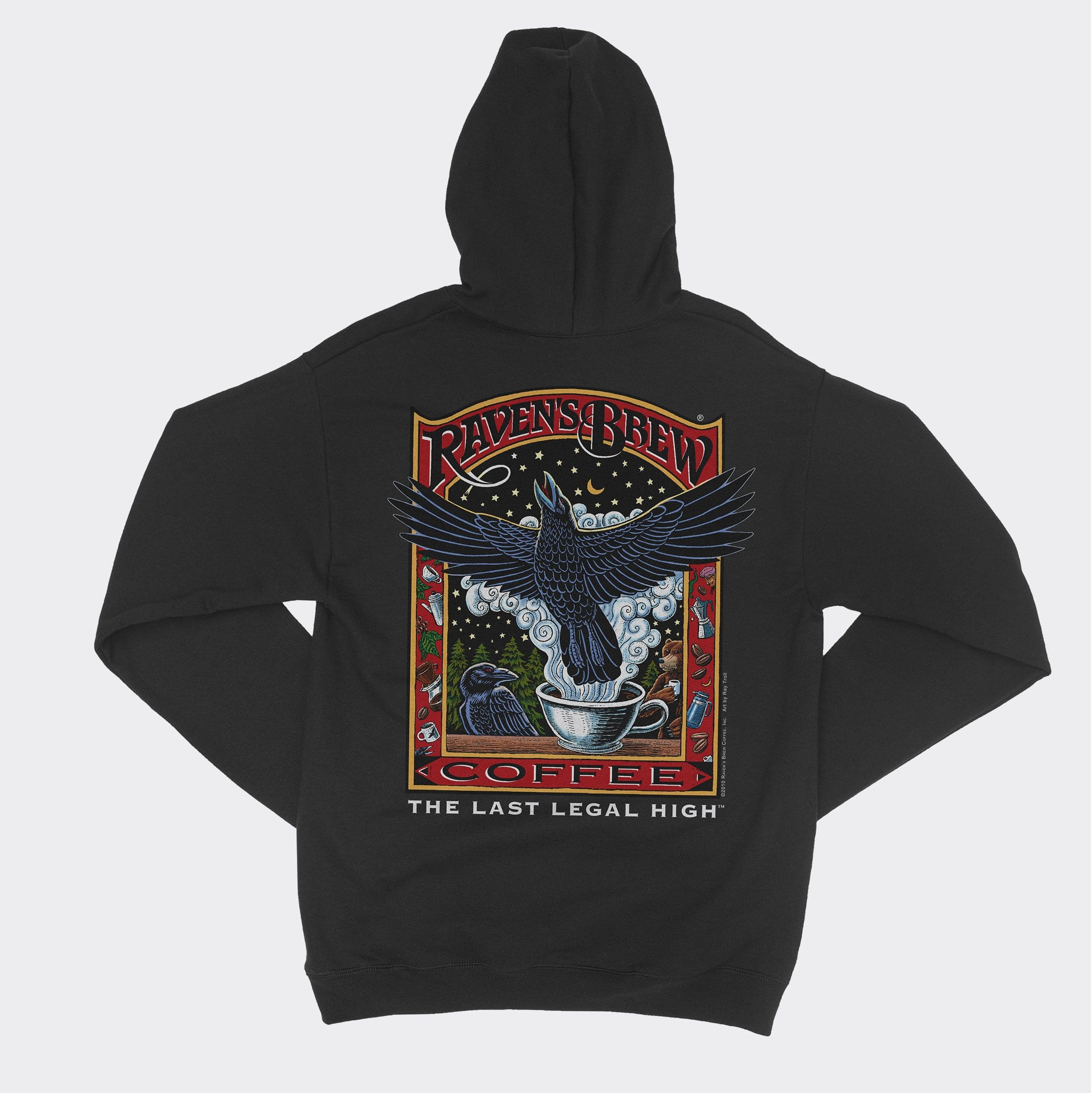 Raven's Brew Coffee® Zip Hoody