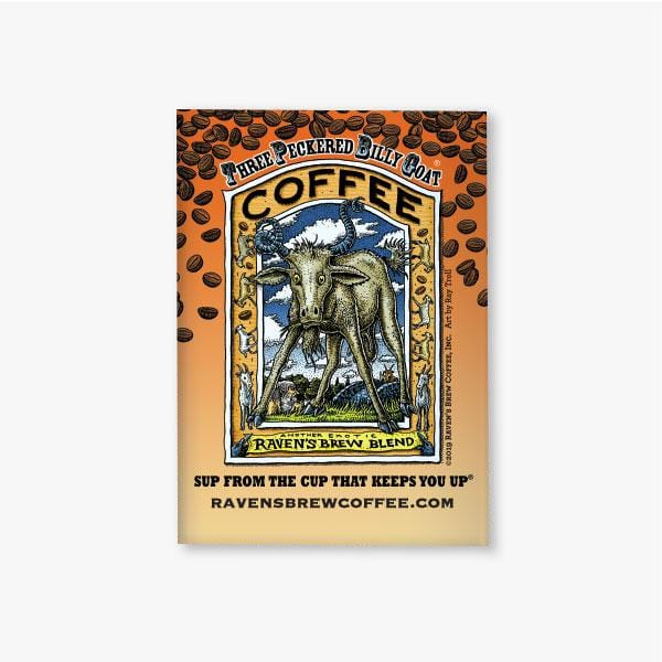 Three Peckered Billy Goat® Magnet