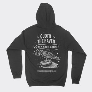 Quoth the Raven Zip Hoody