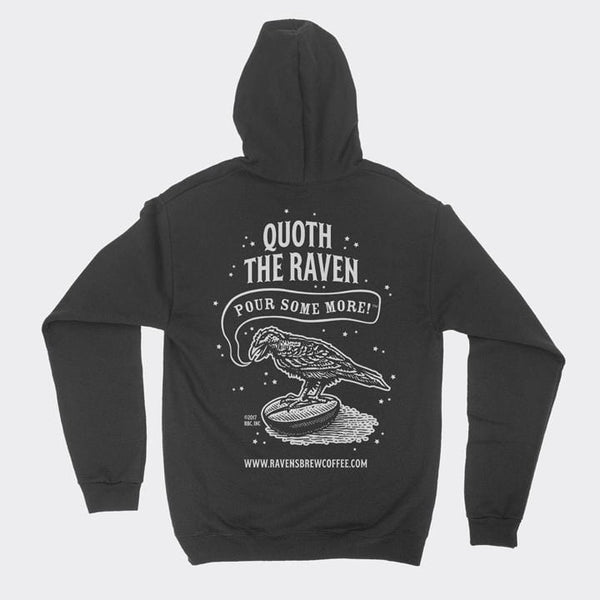 Quoth the Raven, Pour Some More™ Zip Hoody