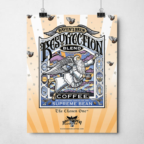 "Resurrection Blend® 11""x14"" Poster"