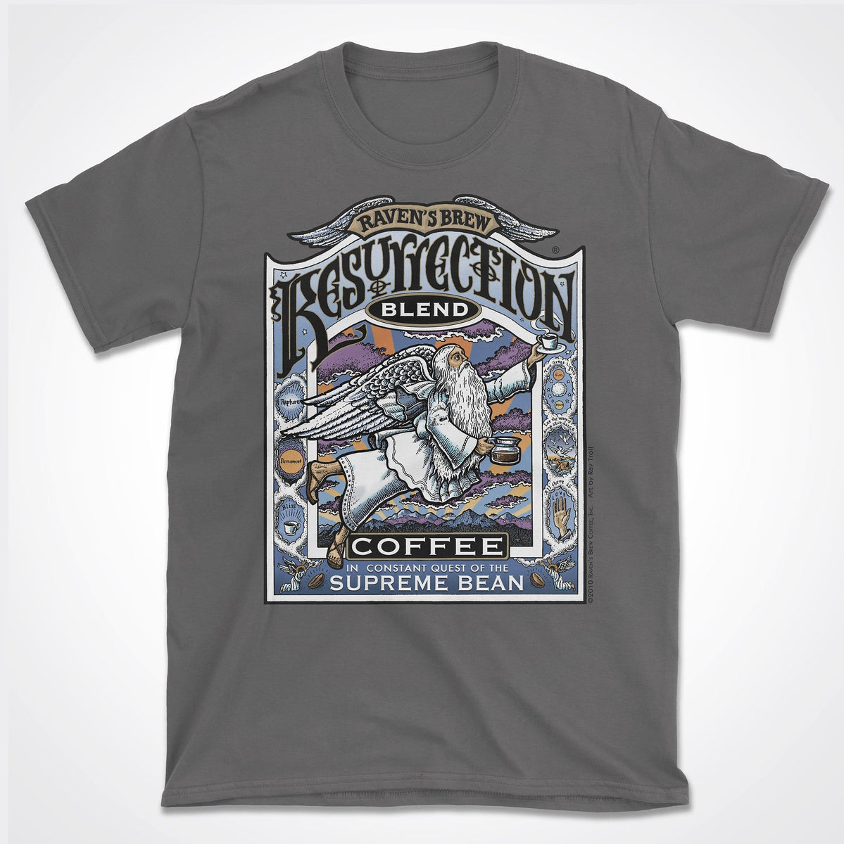 f036ca2488a5 Resurrection Blend® T-Shirt – Raven's Brew Coffee®
