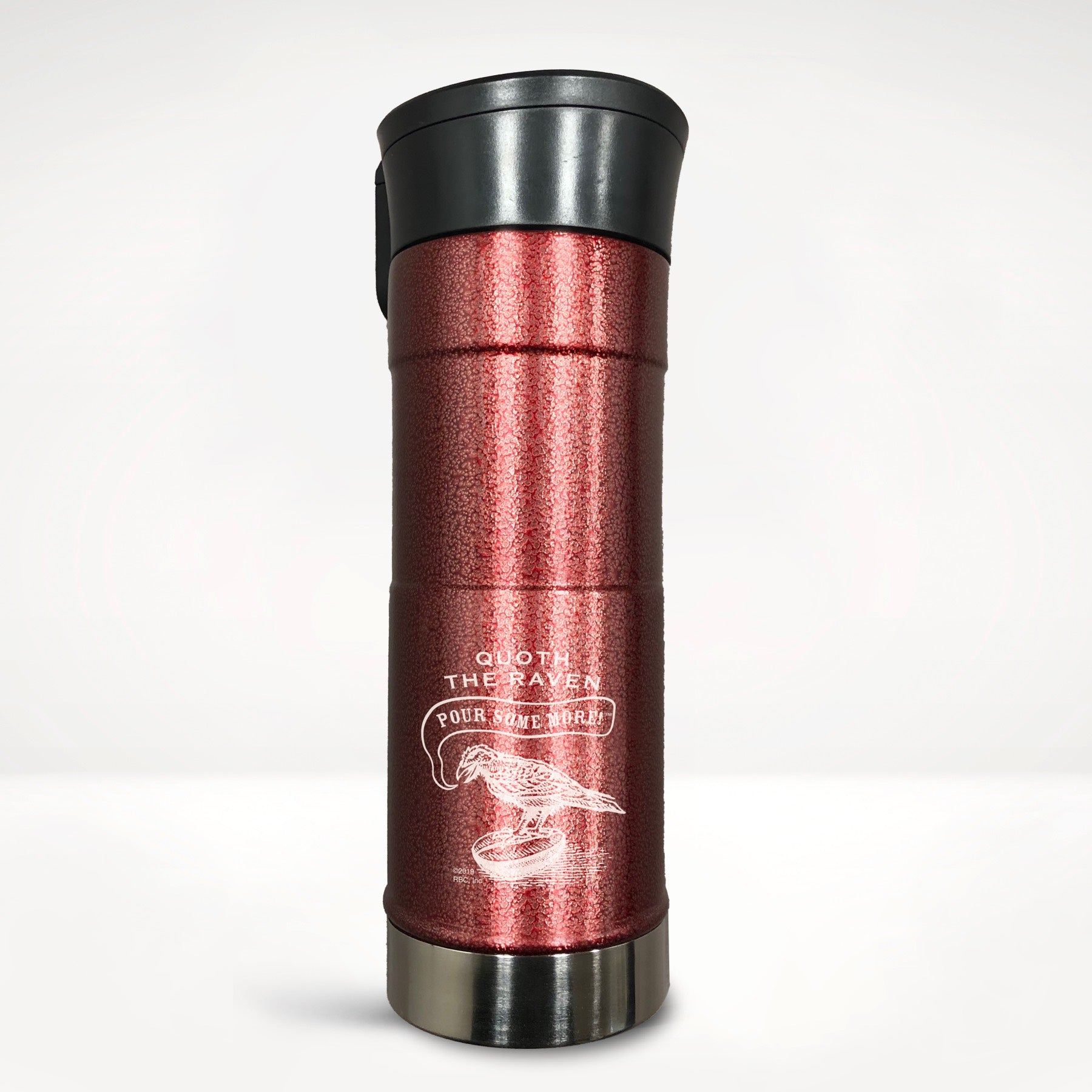 Quoth the Raven, Pour Some More™ Stainless Steel Travel Tumbler