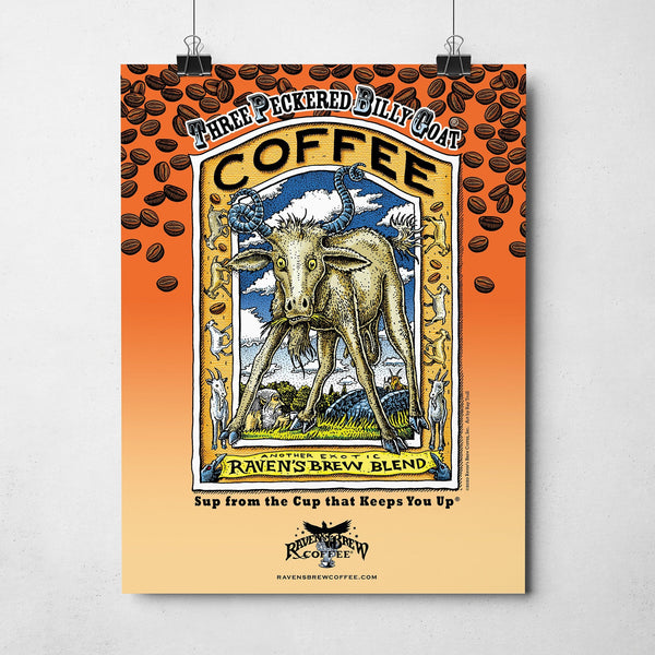 Raven's Brew Coffee® Poster Set