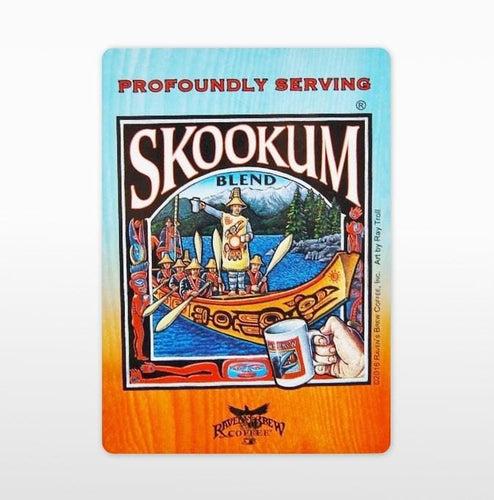 Skookum® Blend Label Art Cling