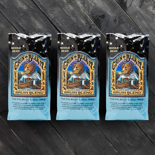 Threesome Set of Bruin Blend® Coffee