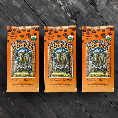 Threesome Set of Organic Three Peckered Billy Goat® Coffee