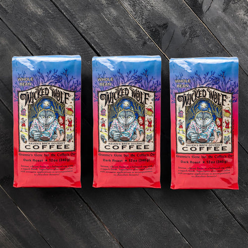 Threesome Set of Wicked Wolf® Coffee