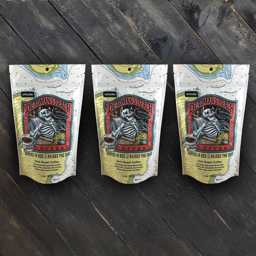 Deadman's Reach® Triplet of 3oz Bags