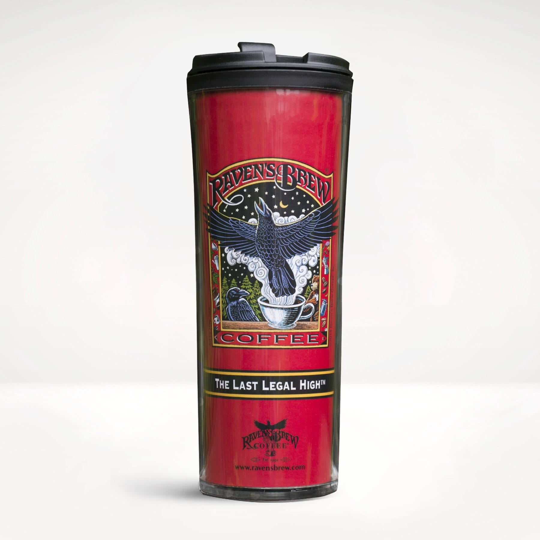 Raven's Brew Coffee® Travel Tumbler