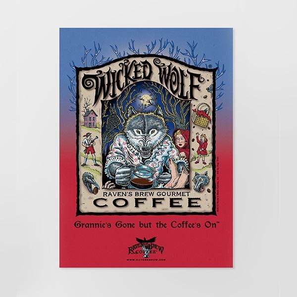 Raven's Brew Coffee® Postcard Set