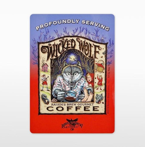 Wicked Wolf® Label Art Cling