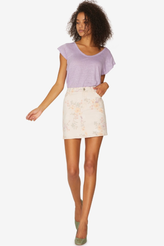 Ryan 5-Pocket Mini Skirt