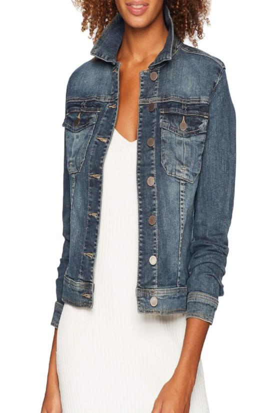 Amelia Denim Jacket - Liberal Wash-Kut from the Kloth-Jupe