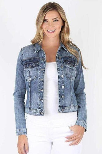 Amelia Denim Jacket - Treasured-Kut from the Kloth-Jupe