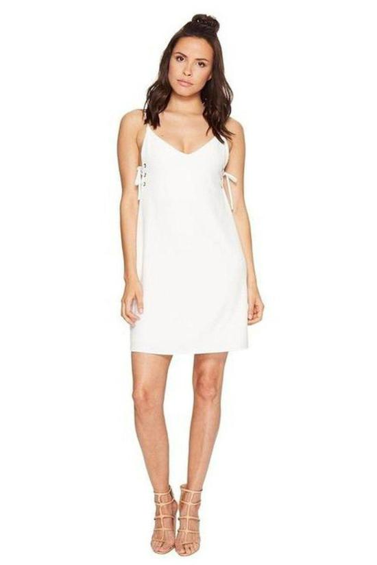 Ana Lace-Up Dress-Bishop + Young-Jupe