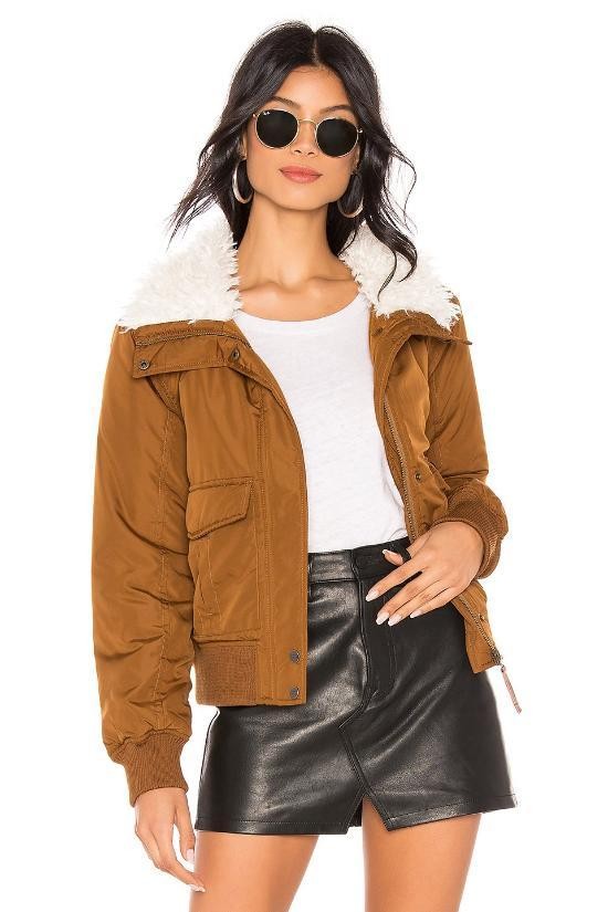 Aviator Flight Jacket-Sanctuary-Jupe