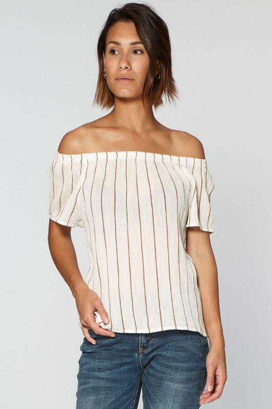 Brenda Off the Shoulder Top-Circle of Trust-Jupe