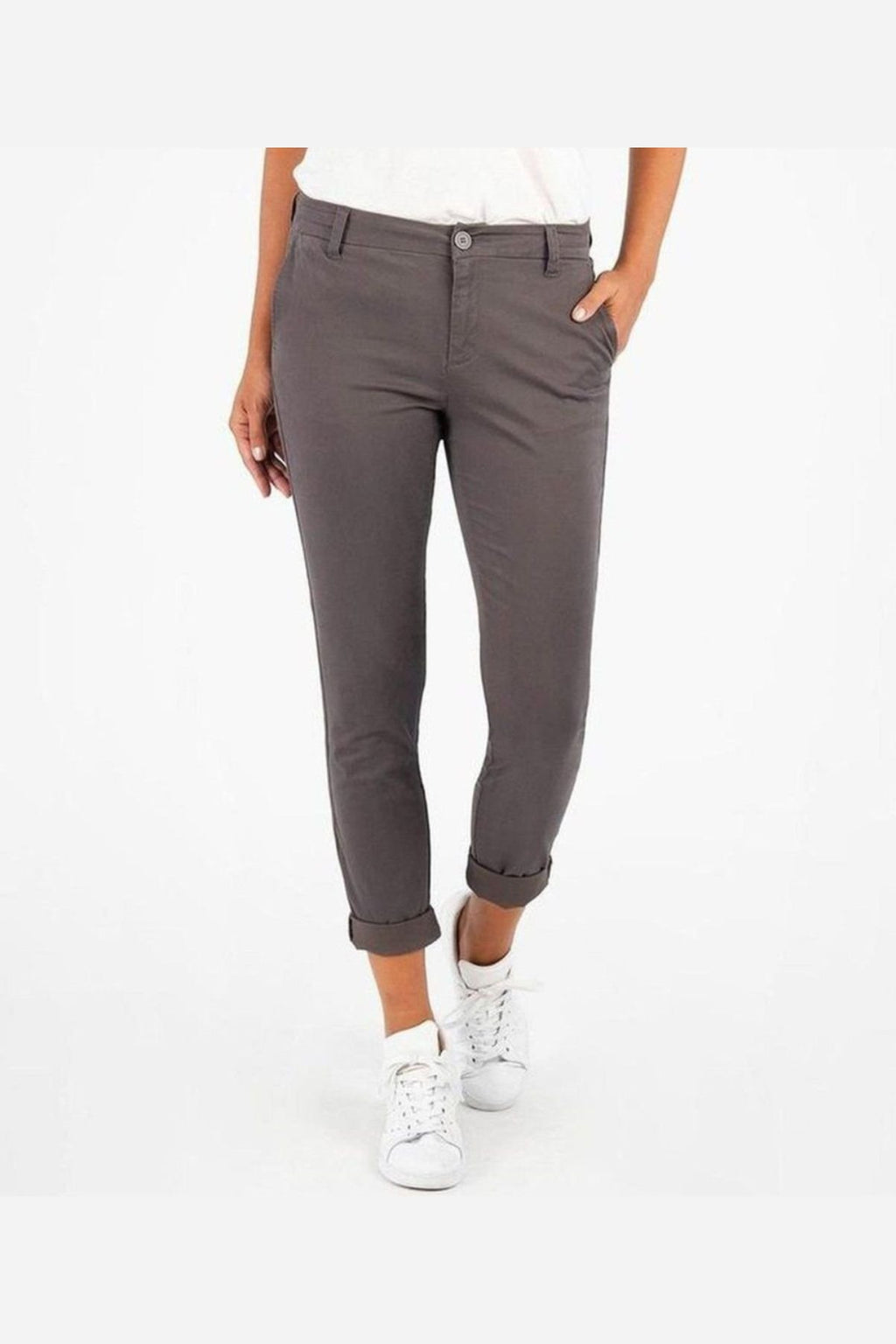 Catherine Slim Boyfriend Trouser-Kut from the Kloth-Jupe