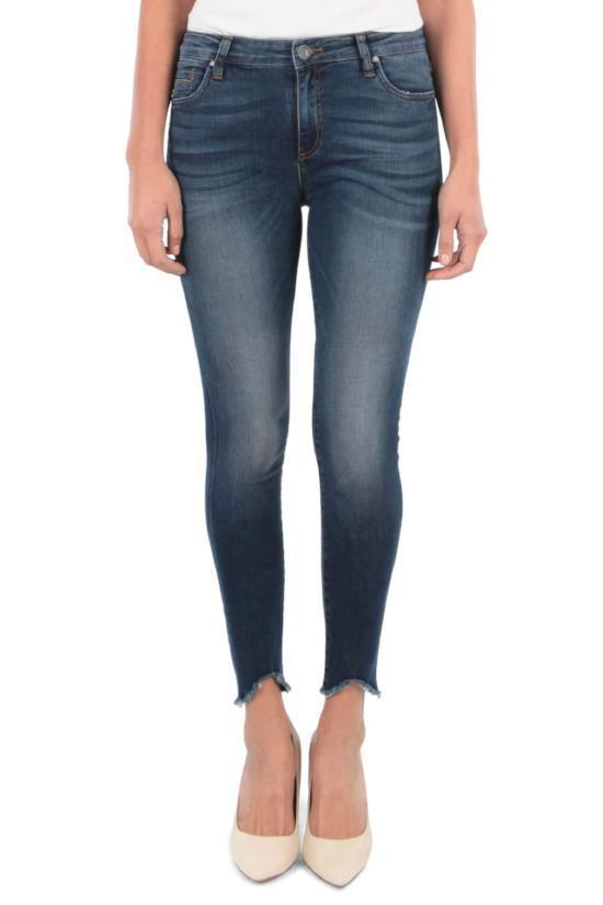 Connie Ankle Skinny Jeans-Kut from the Kloth-Jupe