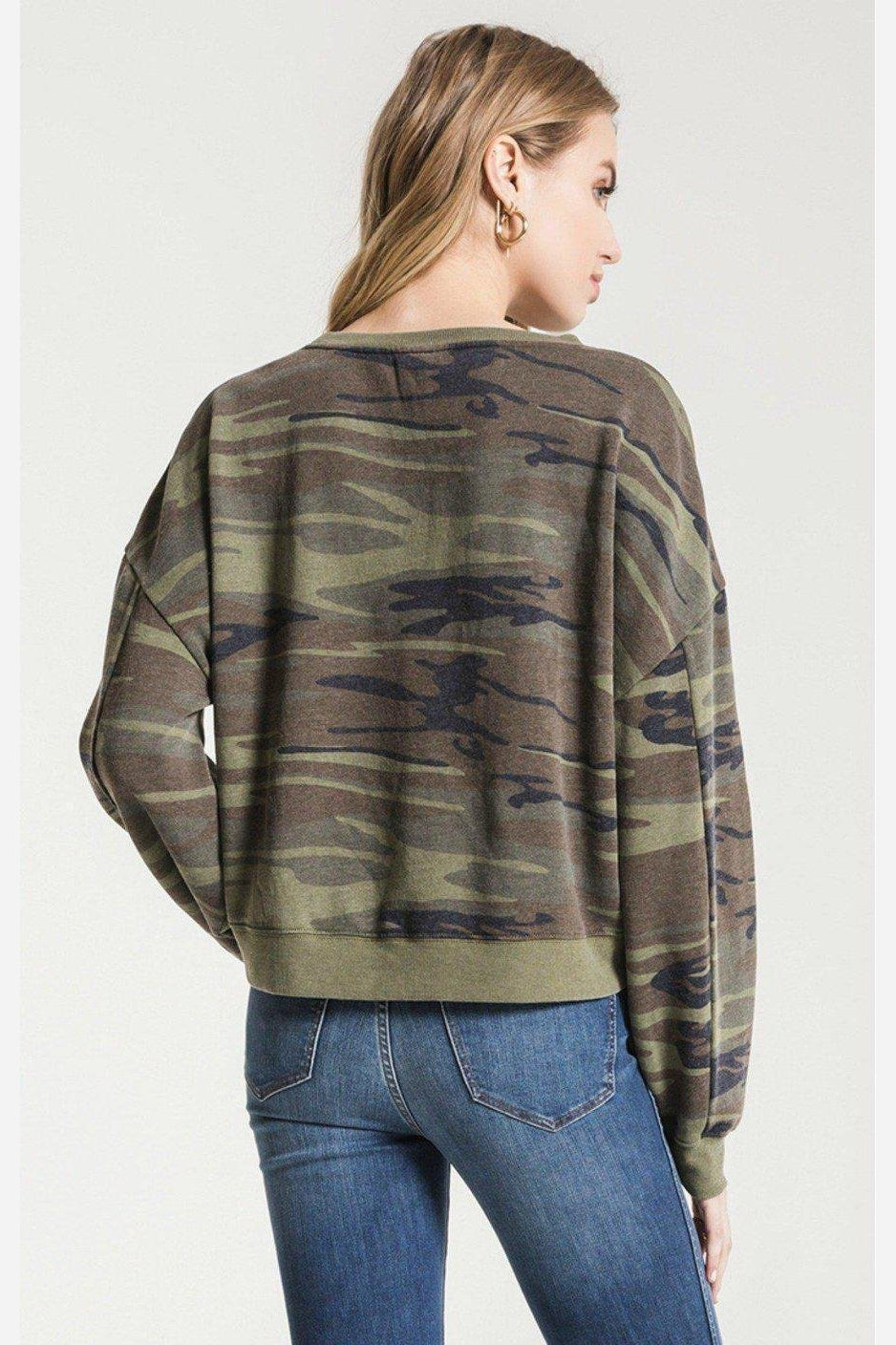 Corrina Boyfriend Sweatshirt-Z Supply-Jupe