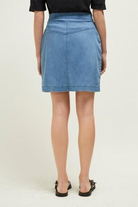 Desert Denim Skirt-Great Plains of London-Jupe