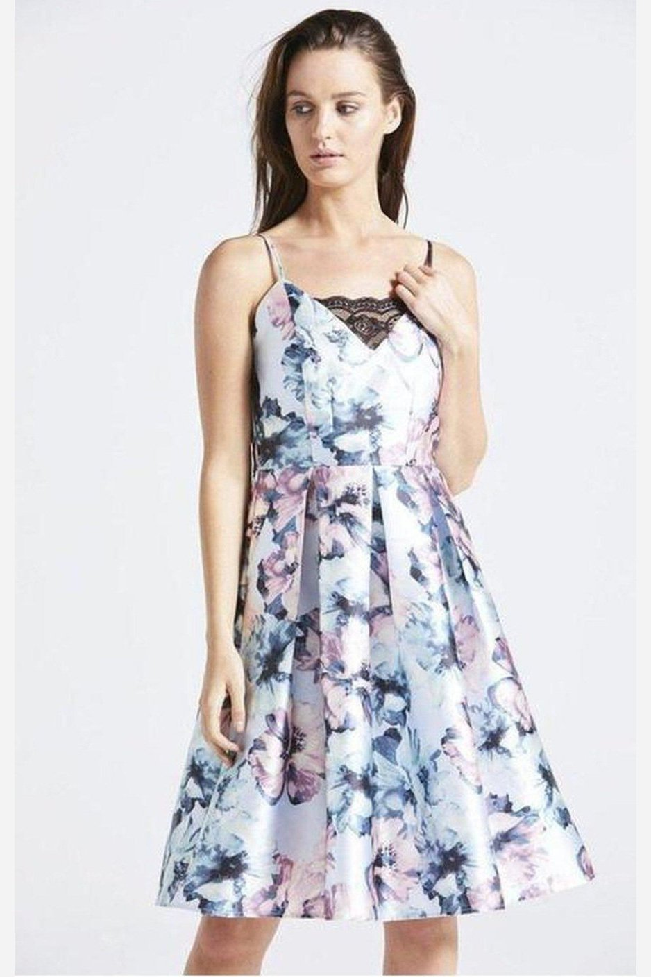 Gracie Floral Dress-AngelEye-Jupe