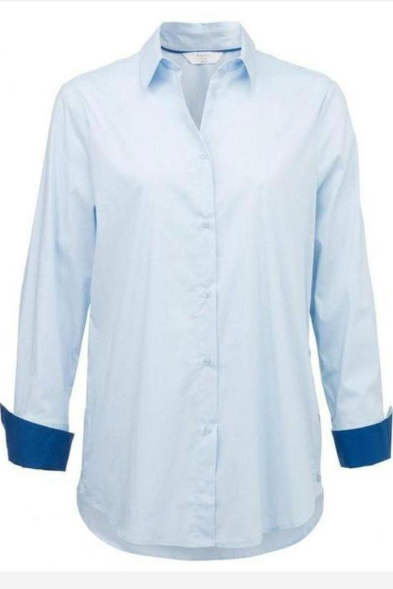 Harper Button Up Shirt-YaYa-Jupe
