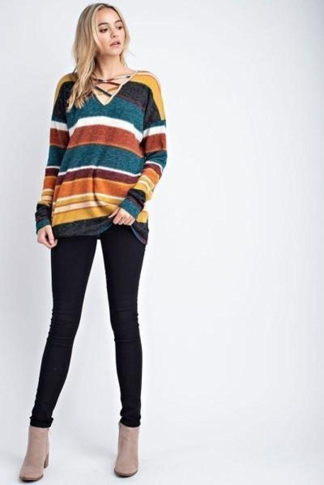 Hope Striped Tunic-Jupe-Jupe
