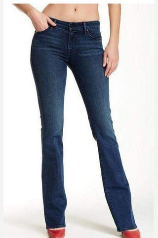 Catherine Boyfriend Jeans with Cut-out Pocket