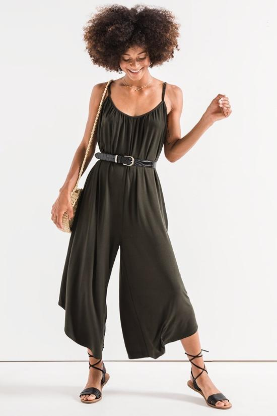 Lorena Flared Jumpsuit-Z Supply-Jupe
