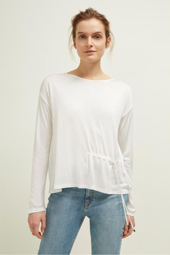 Lucy Side Tie Top-Great Plains of London-Jupe
