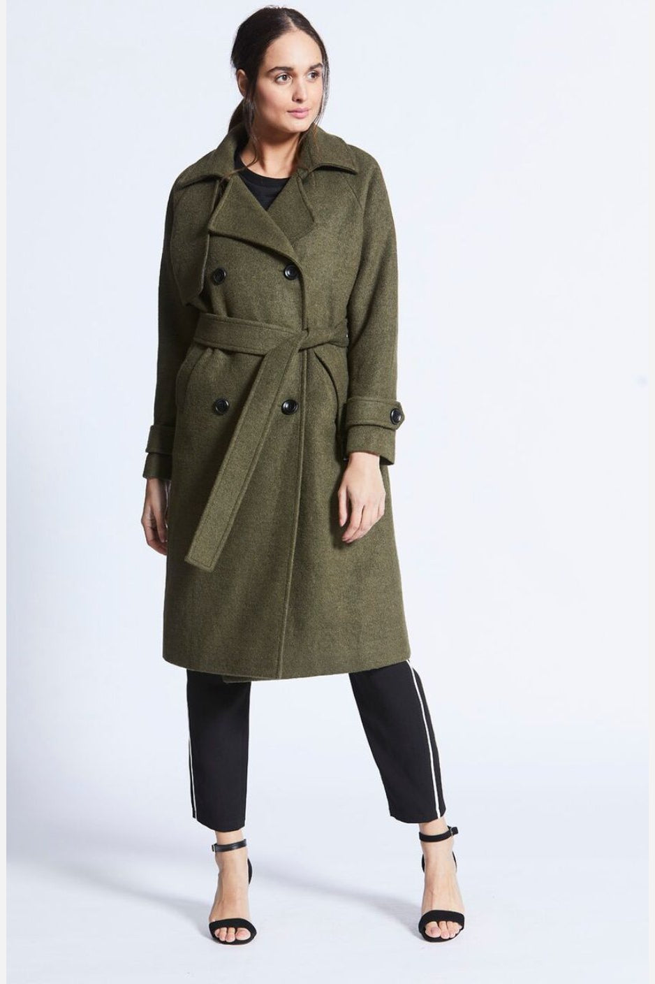 Maeve Wool Trench Coat-Jupe-Jupe
