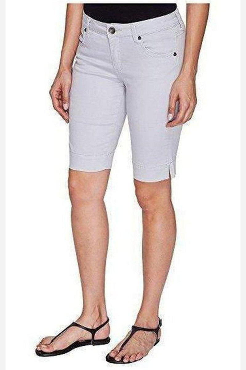 Natalie Bermuda Short - Cool Grey-Kut from the Kloth-Jupe