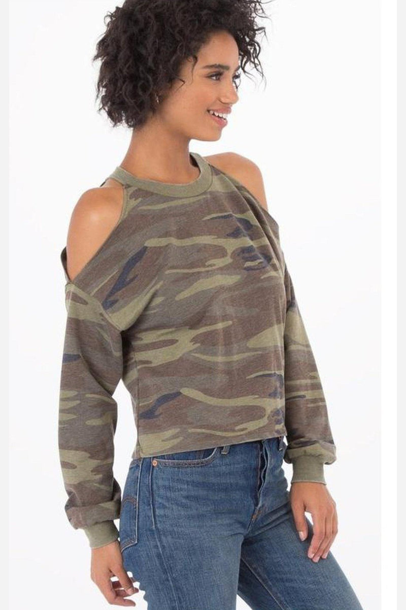 Reagan Cropped Top-Z Supply-Jupe