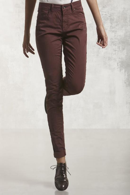 Renee Slim Fit Twill Pants-Nile Atelier-Jupe