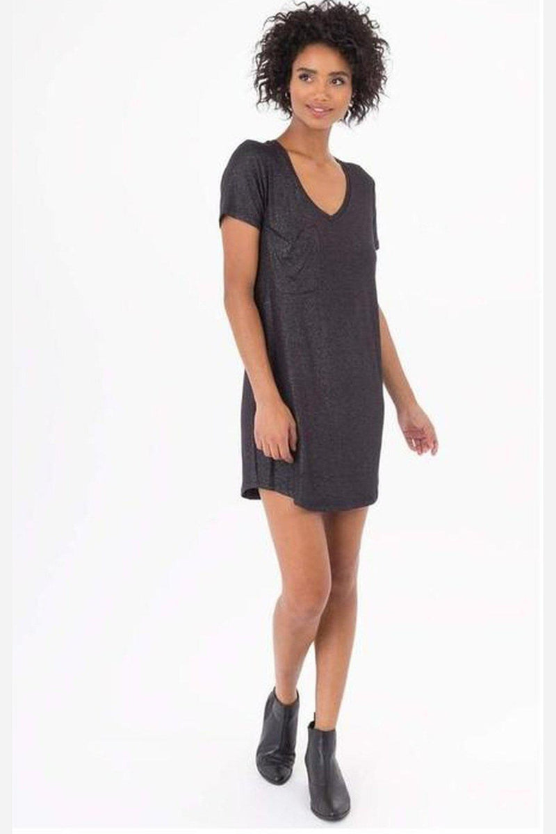 Sadie Shimmer Dress-Z Supply-Jupe
