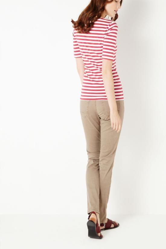 Sarah Striped Tee-Sandwich-Jupe