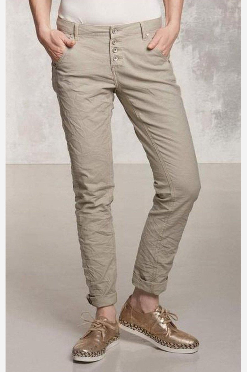 Scout Textured Pant-Nile Atelier-Jupe