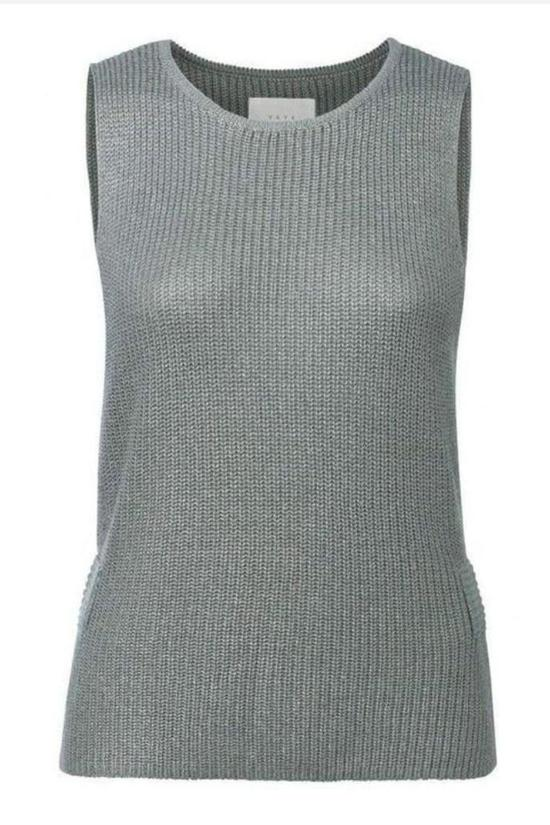 Spencer Side Slit Tank-YaYa-Jupe