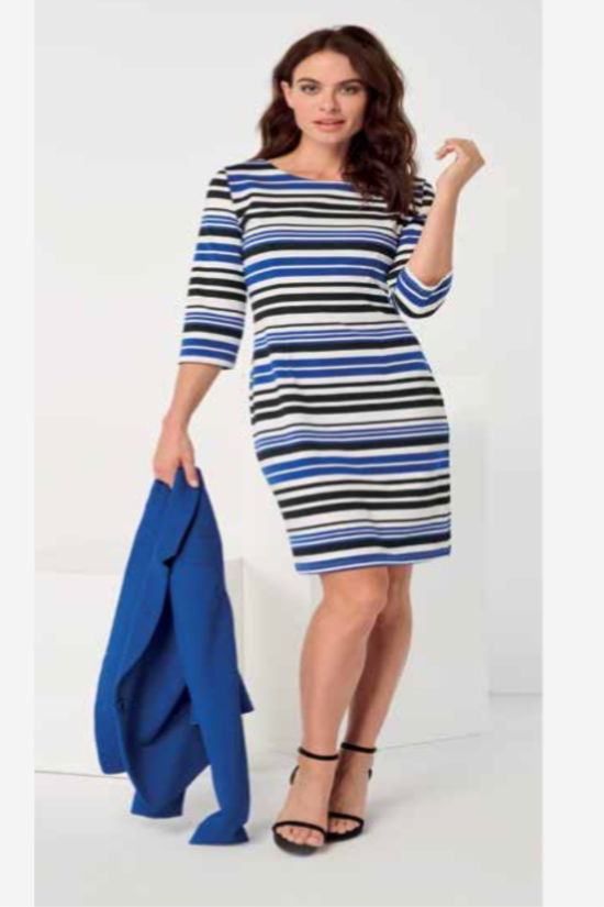 Savannah Striped Dress