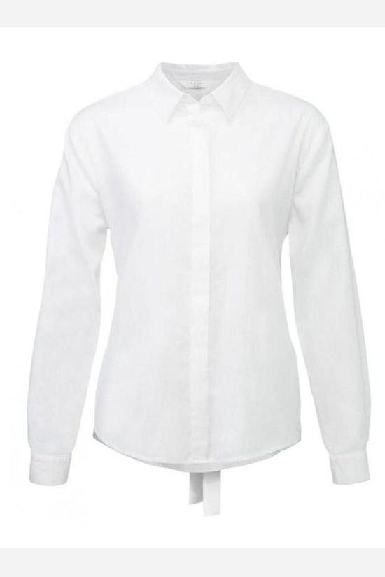 Wynne Button-Up Blouse-Yaya-Jupe
