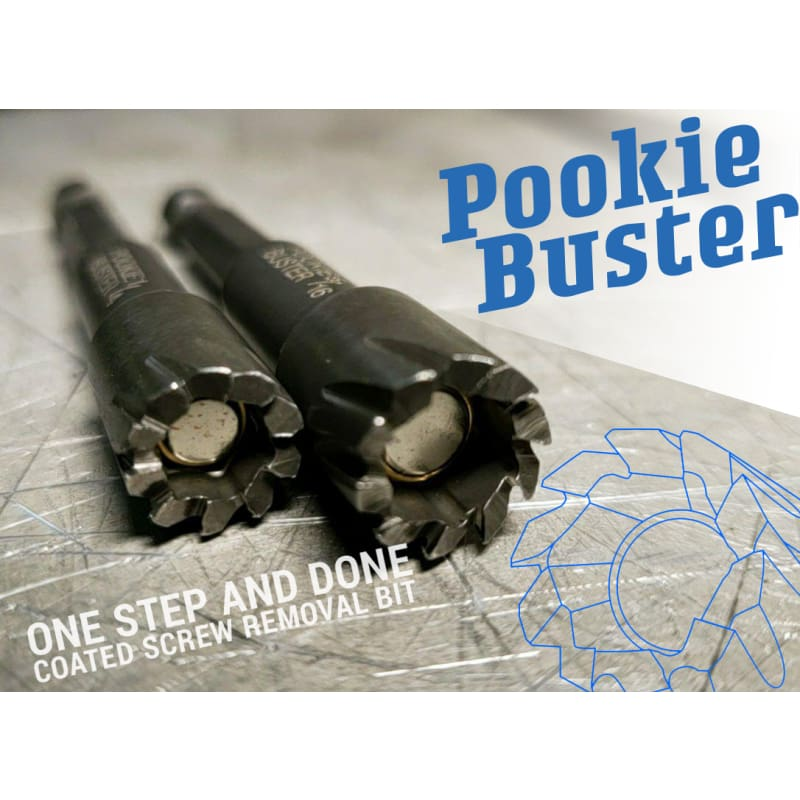 Pookiebuster Pookie Buster The Ultimate Coated Screw