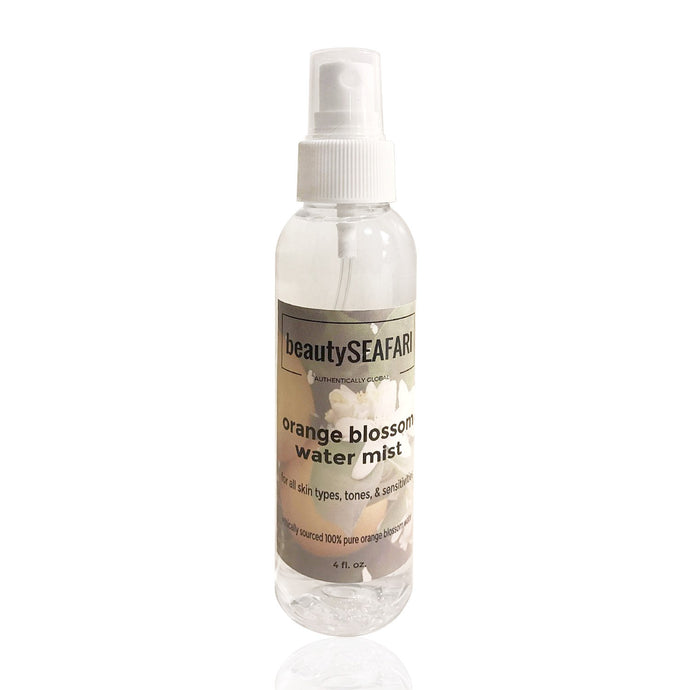 orange blossom water mist